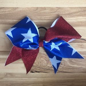 Accessories - USA cheer bow